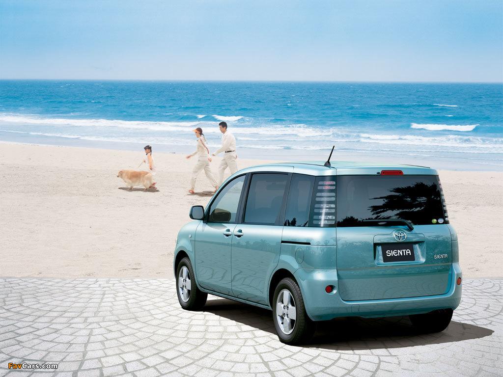 Toyota Sienta (NCP81G) 2003–06 photos (1024 x 768)