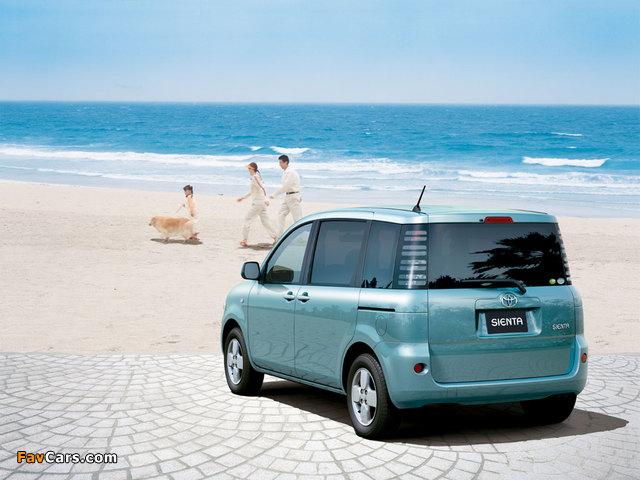Toyota Sienta (NCP81G) 2003–06 photos (640 x 480)