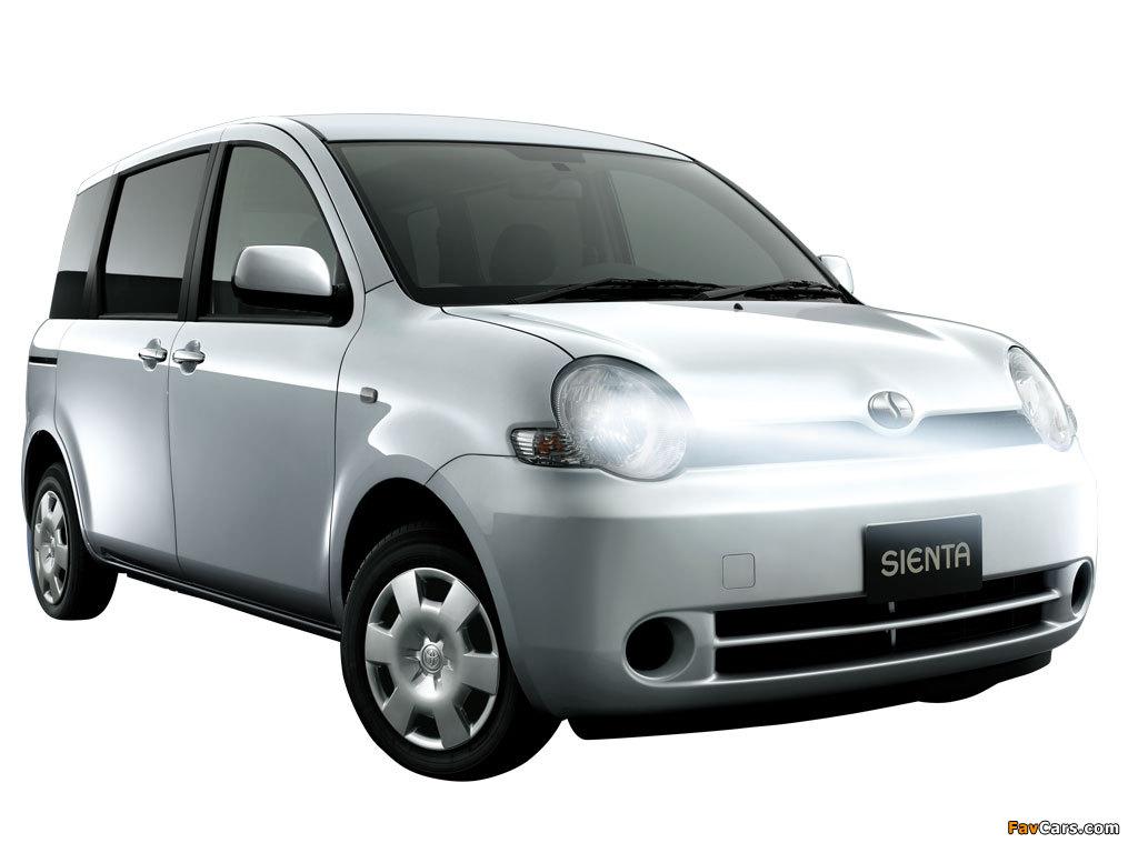 Toyota Sienta (NCP81G) 2003–06 wallpapers (1024 x 768)