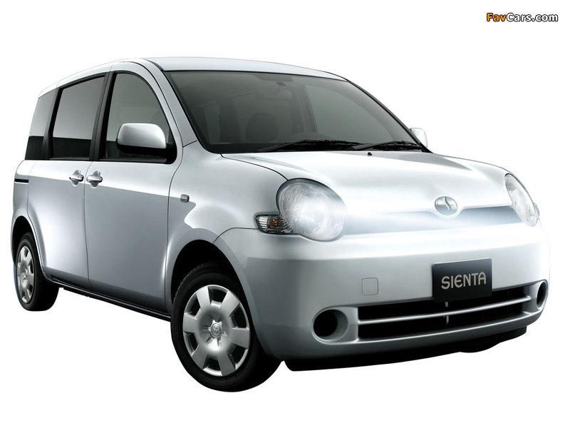 Toyota Sienta (NCP81G) 2003–06 wallpapers (800 x 600)
