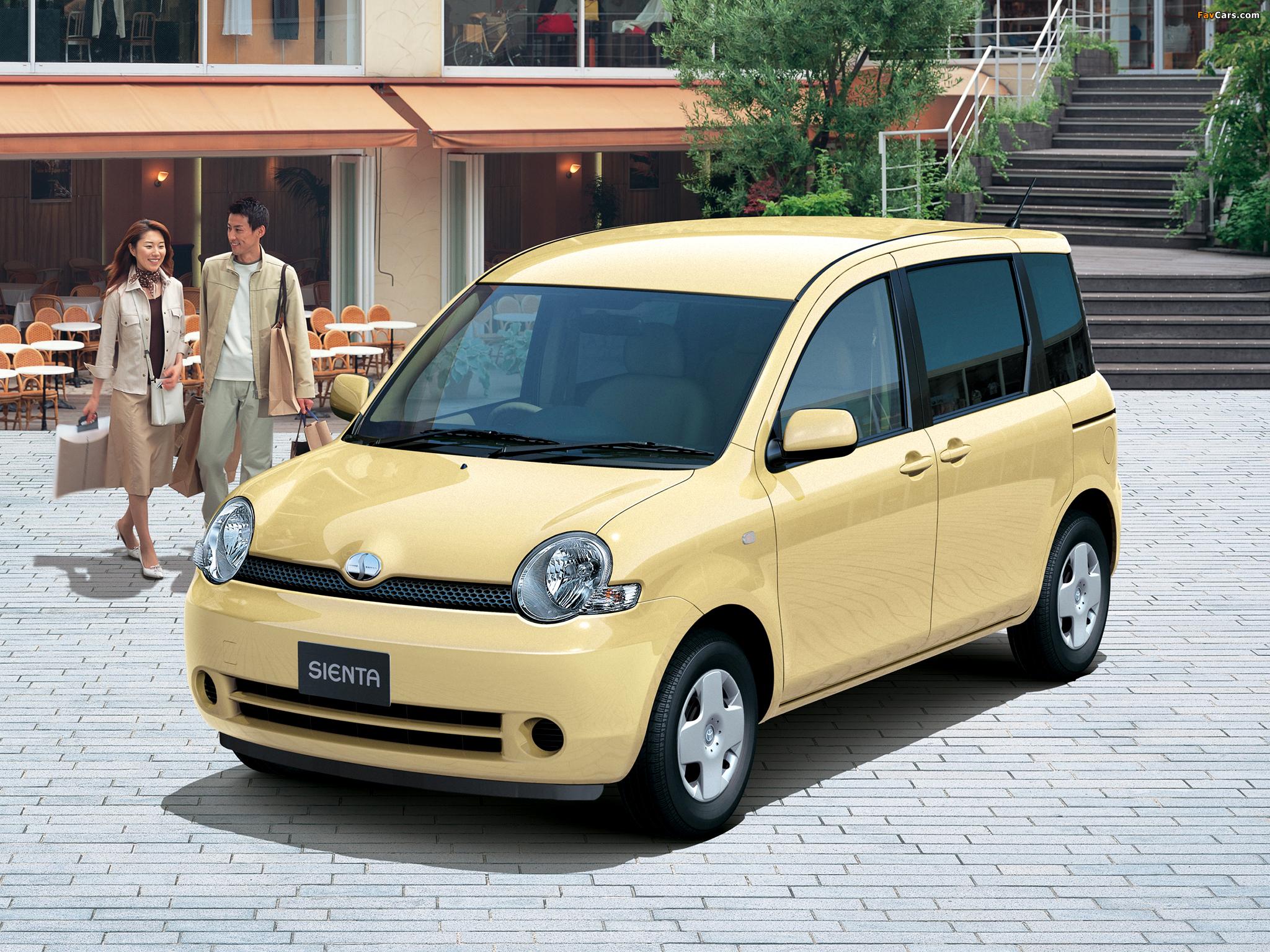 Toyota Sienta (NCP81G) 2003–06 wallpapers (2048 x 1536)