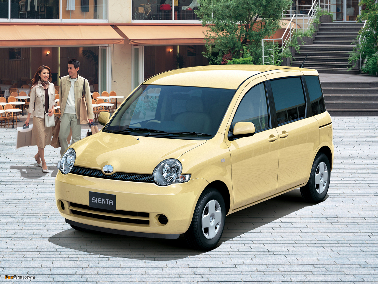 Toyota Sienta (NCP81G) 2003–06 wallpapers (1280 x 960)