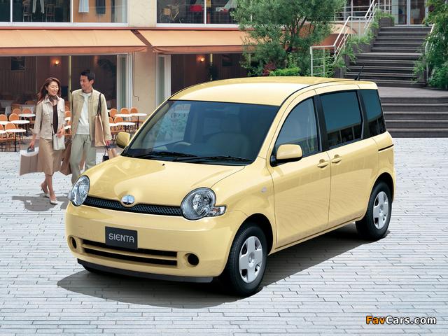 Toyota Sienta (NCP81G) 2003–06 wallpapers (640 x 480)