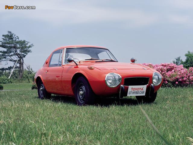 Photos of Toyota Sports 800 GT Hybrid Concept 1977 (640 x 480)