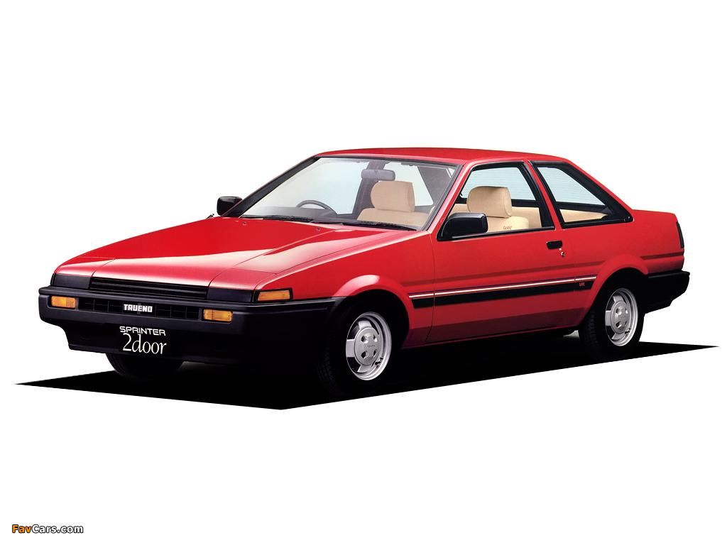 Toyota Sprinter Trueno XL Lisse 2 Door AE85 1983 85 Wallpapers
