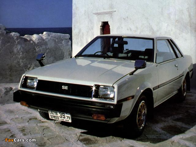 Toyota Sprinter SE Hardtop (AE70) 1979–81 photos (640 x 480)