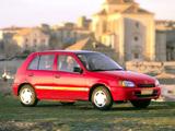 Pictures of Toyota Starlet 5-door (P90) 1996–99