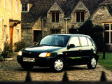 Toyota Starlet 5-door UK-spec (P90) 1996–99 wallpapers