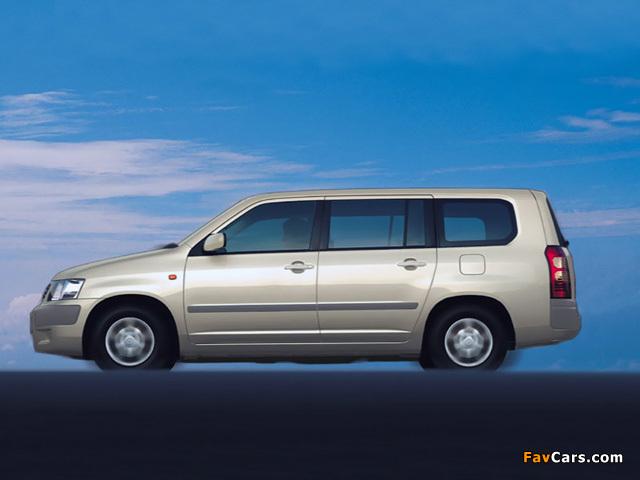 Images of Toyota Succeed Van (CP50) 2002 (640 x 480)