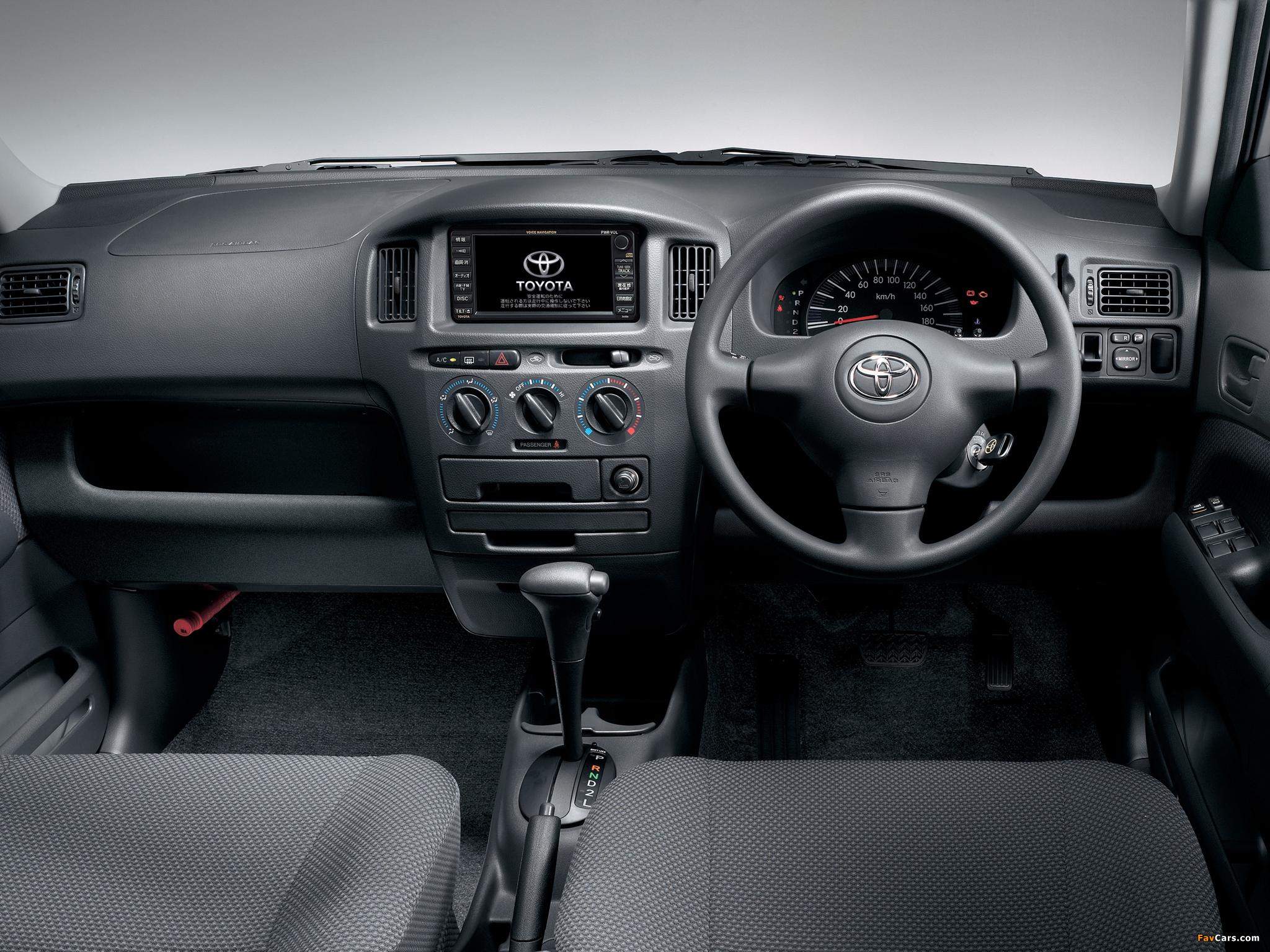 Photos of Toyota Succeed Van (CP50) 2002 (2048 x 1536)
