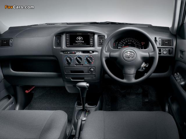 Photos of Toyota Succeed Van (CP50) 2002 (640 x 480)