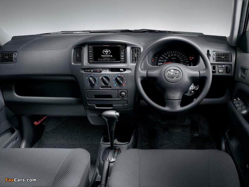 Photos of Toyota Succeed Van (CP50) 2002 (800 x 600)