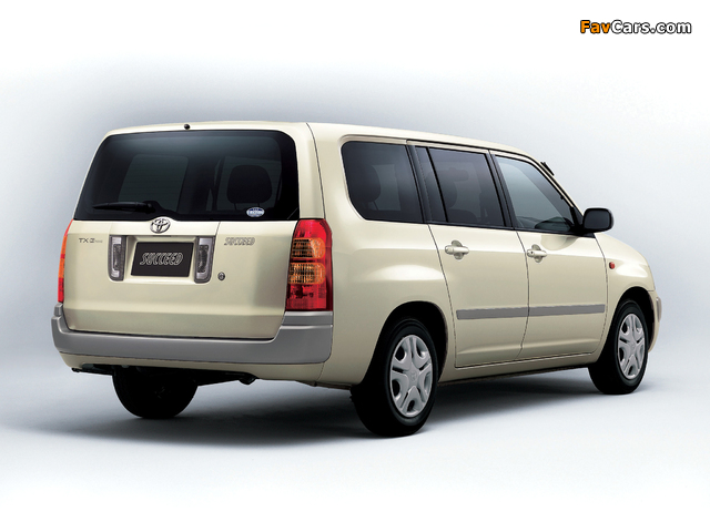 Toyota Succeed Wagon (CP50) 2002 images (640 x 480)