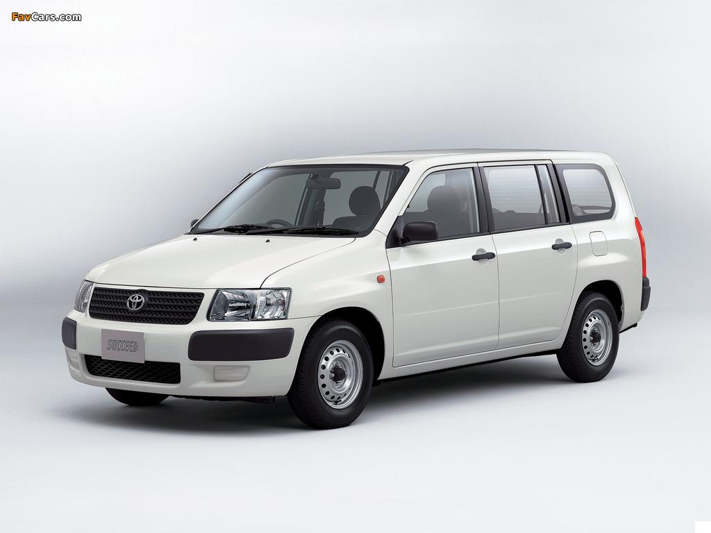 Toyota Succeed Van (CP50) 2002 wallpapers (1024 x 768)