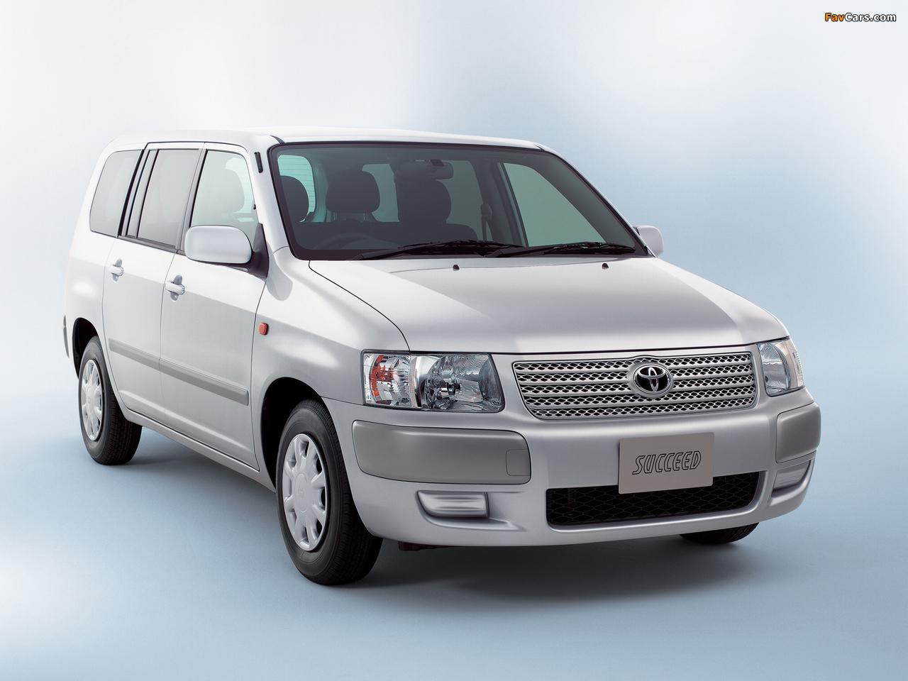Toyota Succeed Van (CP50) 2002 wallpapers (1280 x 960)