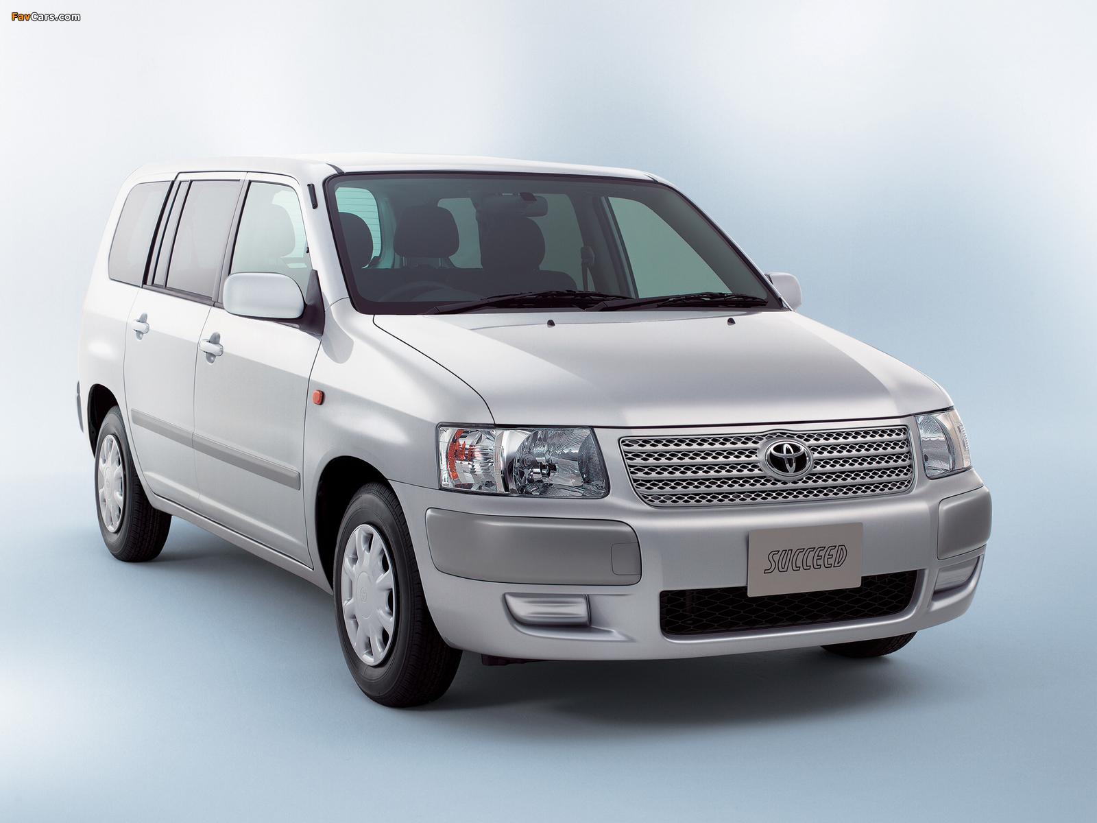 Toyota Succeed Van (CP50) 2002 wallpapers (1600 x 1200)