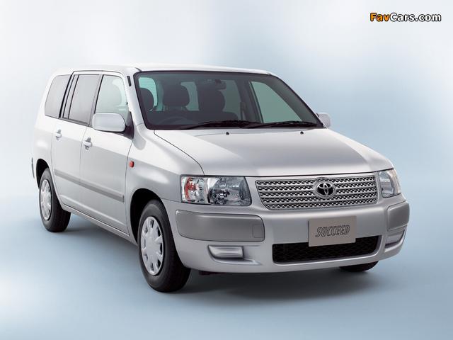 Toyota Succeed Van (CP50) 2002 wallpapers (640 x 480)