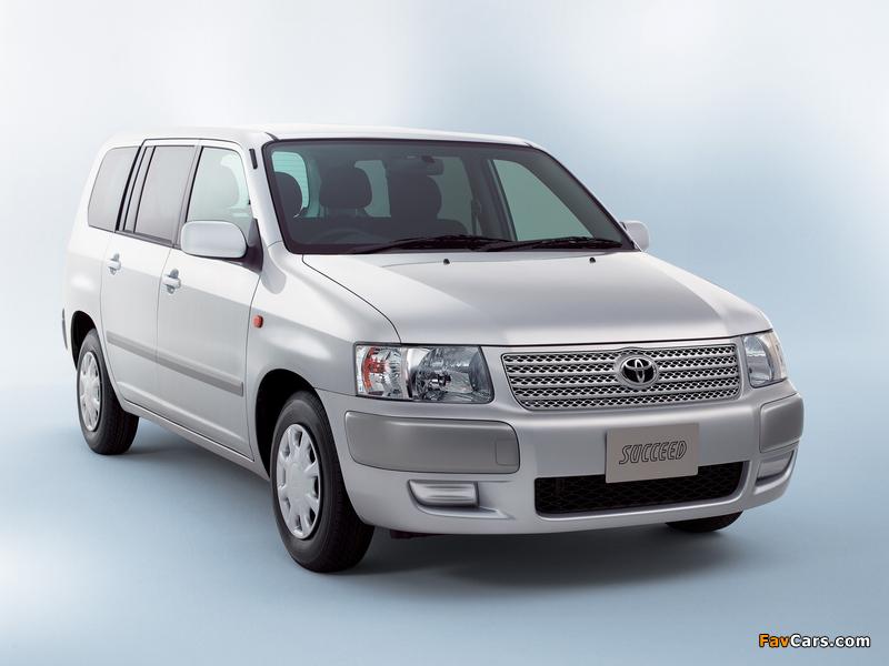 Toyota Succeed Van (CP50) 2002 wallpapers (800 x 600)