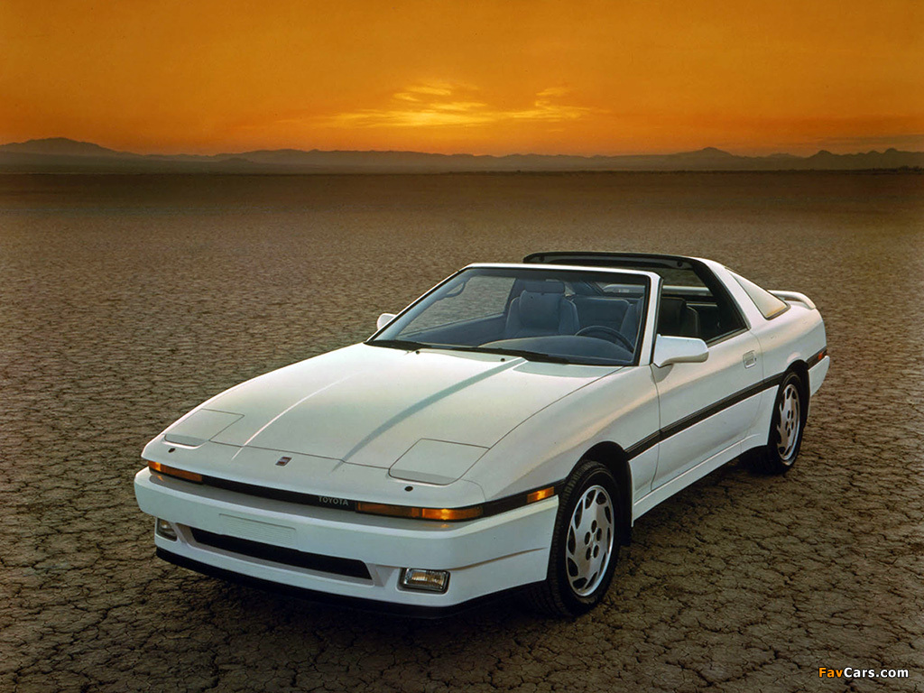 Photos of Toyota Supra 3.0 Turbo Sport Roof US-spec (MA70) 1987–89