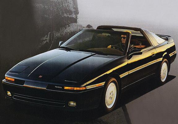 Toyota Supra 3.0 Turbo Sport Roof US-spec (MA70) 1989–92