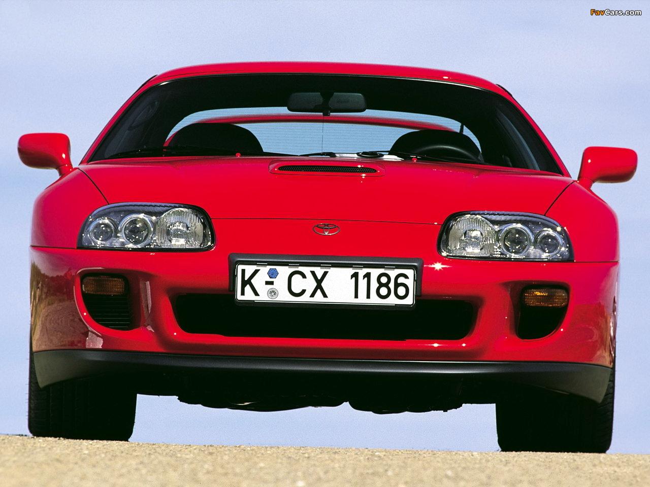 Toyota Supra Targa Eu Spec 1993 96 Images 1280x960
