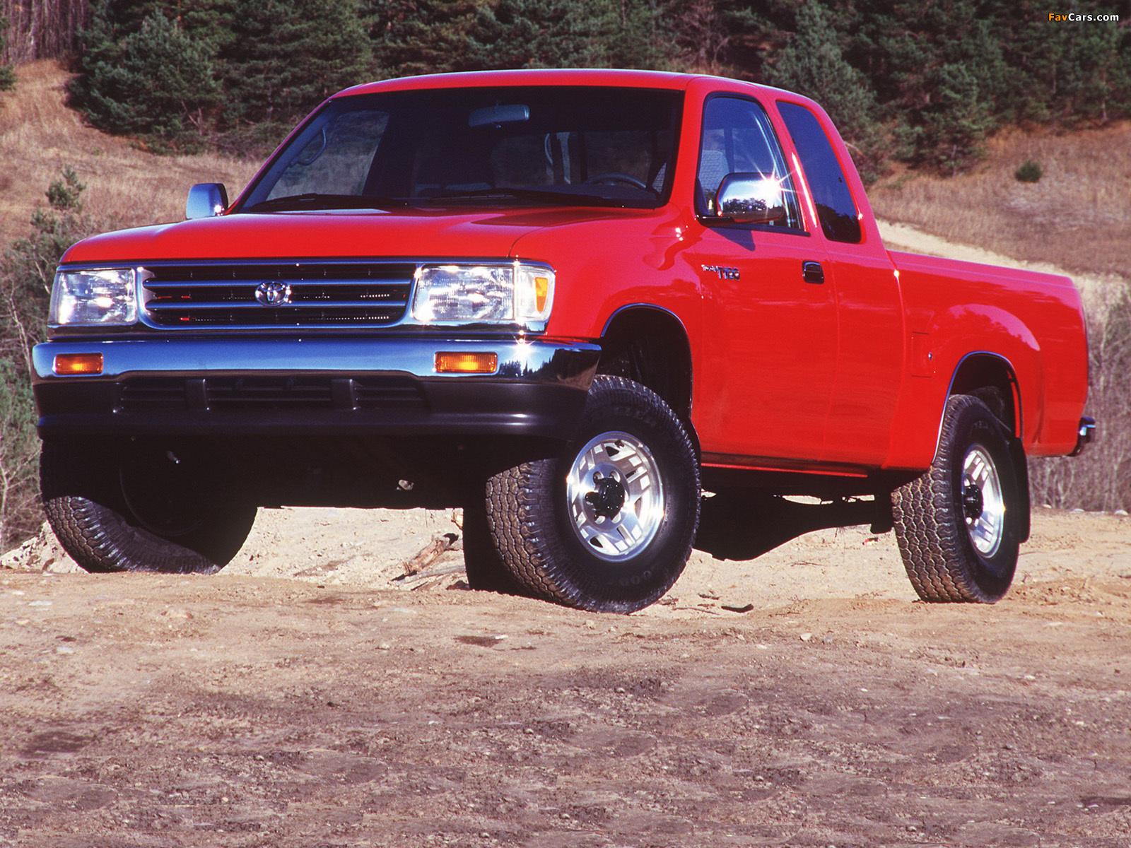 Photos of Toyota T100 Xtracab 4WD 1995–98 (1600 x 1200)