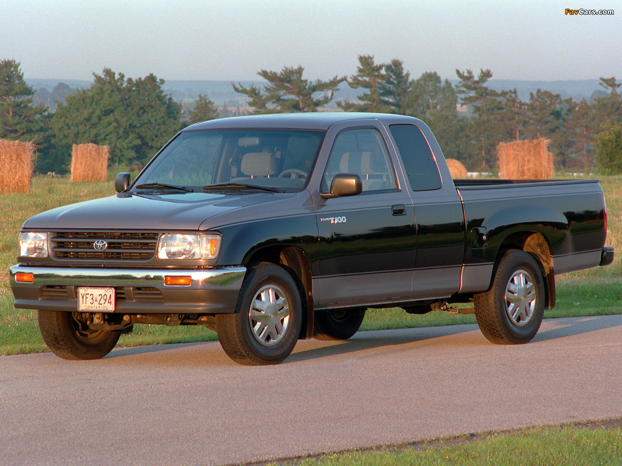 Pictures Of Toyota T100 Xtracab 2wd 1995 98 1280x960
