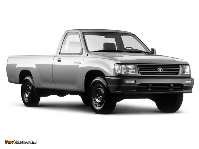 Toyota T100 Regular Cab 2WD 1993–98 images (640 x 480)
