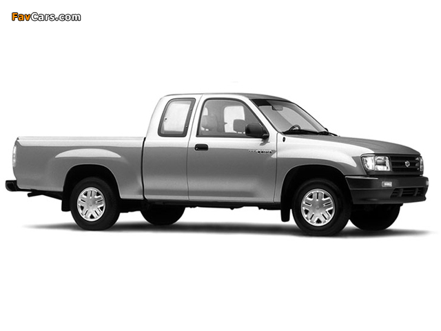 Toyota T100 Xtracab 2WD 1995–98 images (640 x 480)