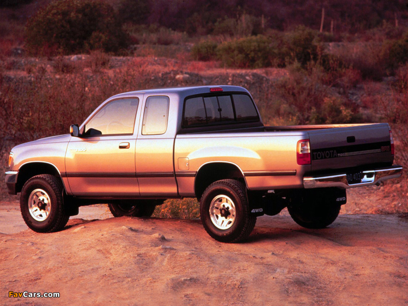 Toyota T100 Xtracab 4WD 1995–98 wallpapers (800 x 600)