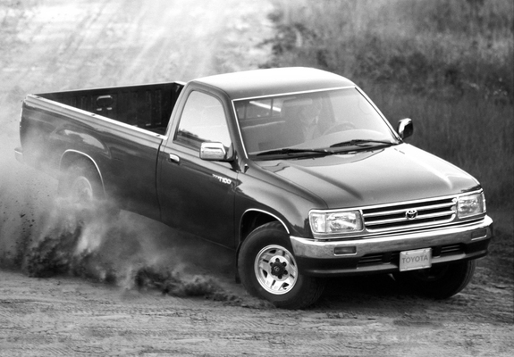 Toyota T100 Regular Cab 4wd 1993 98 Wallpapers