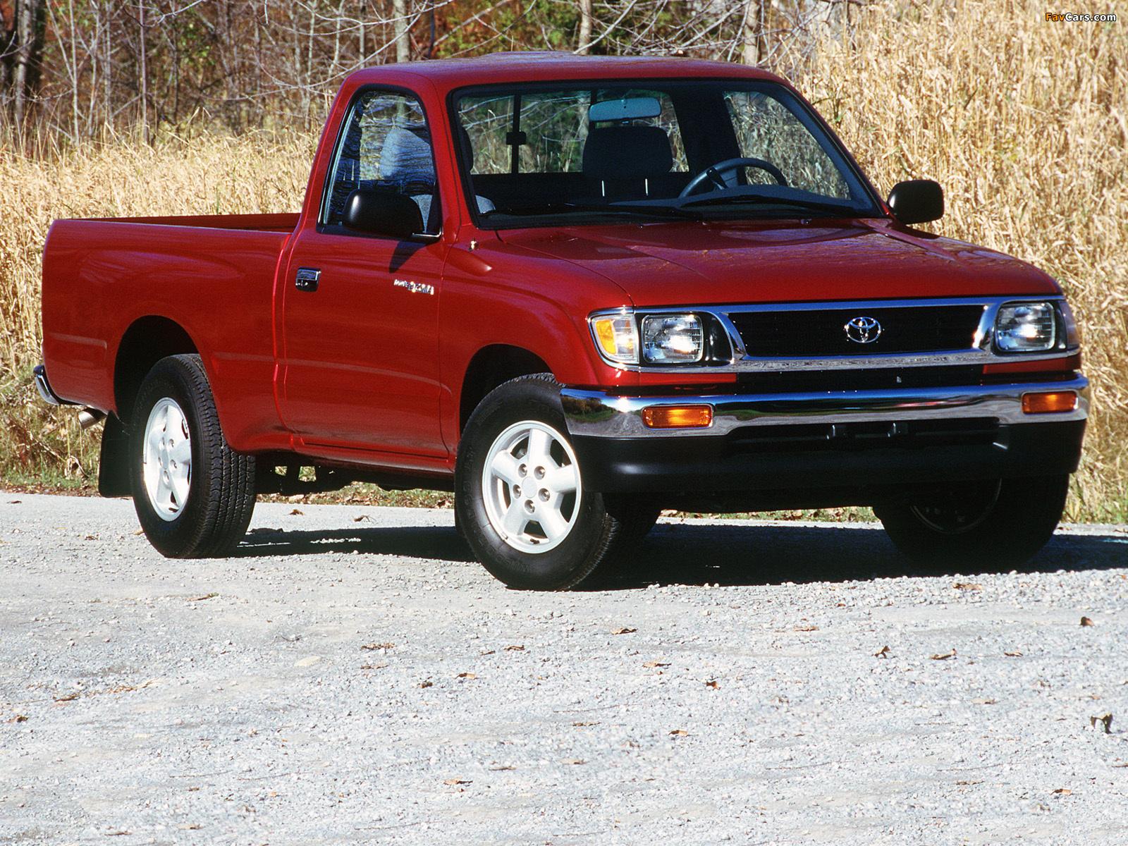 Images of Toyota Tacoma Regular Cab 2WD 1995–98 (1600x1200)