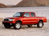Images of Toyota Tacoma Limited Double Cab 2001–04