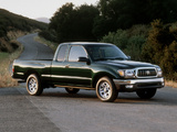 Pictures of Toyota Tacoma SR5 2WD Xtracab 2001–04