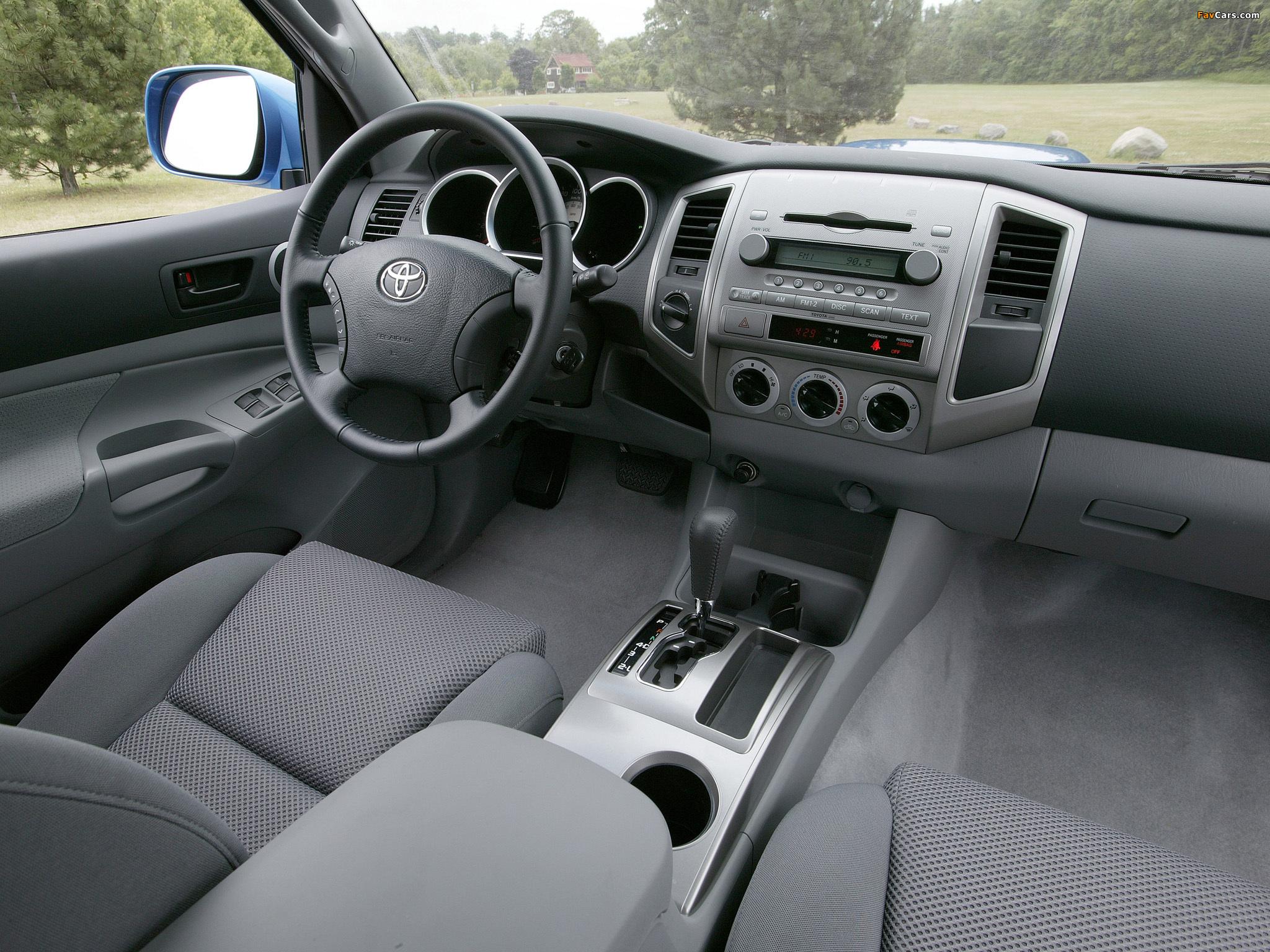 Toyota Tacoma: история, фото, обзор, характеристики Тойота ...