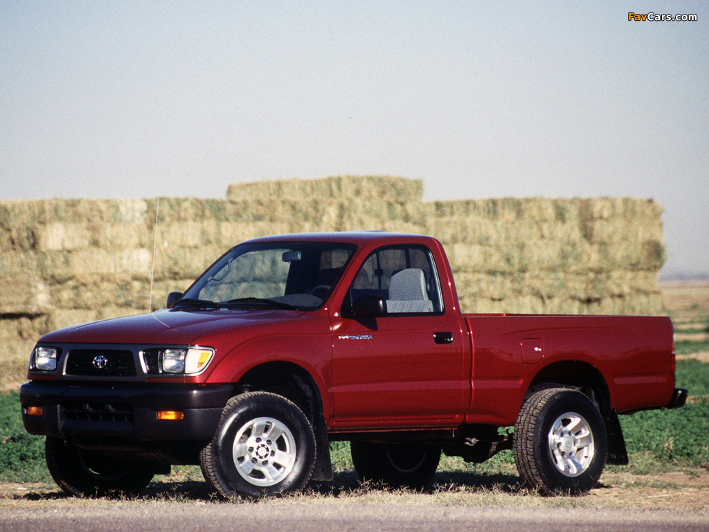 Toyota Tacoma Regular Cab 1995–98 images (1024x768)