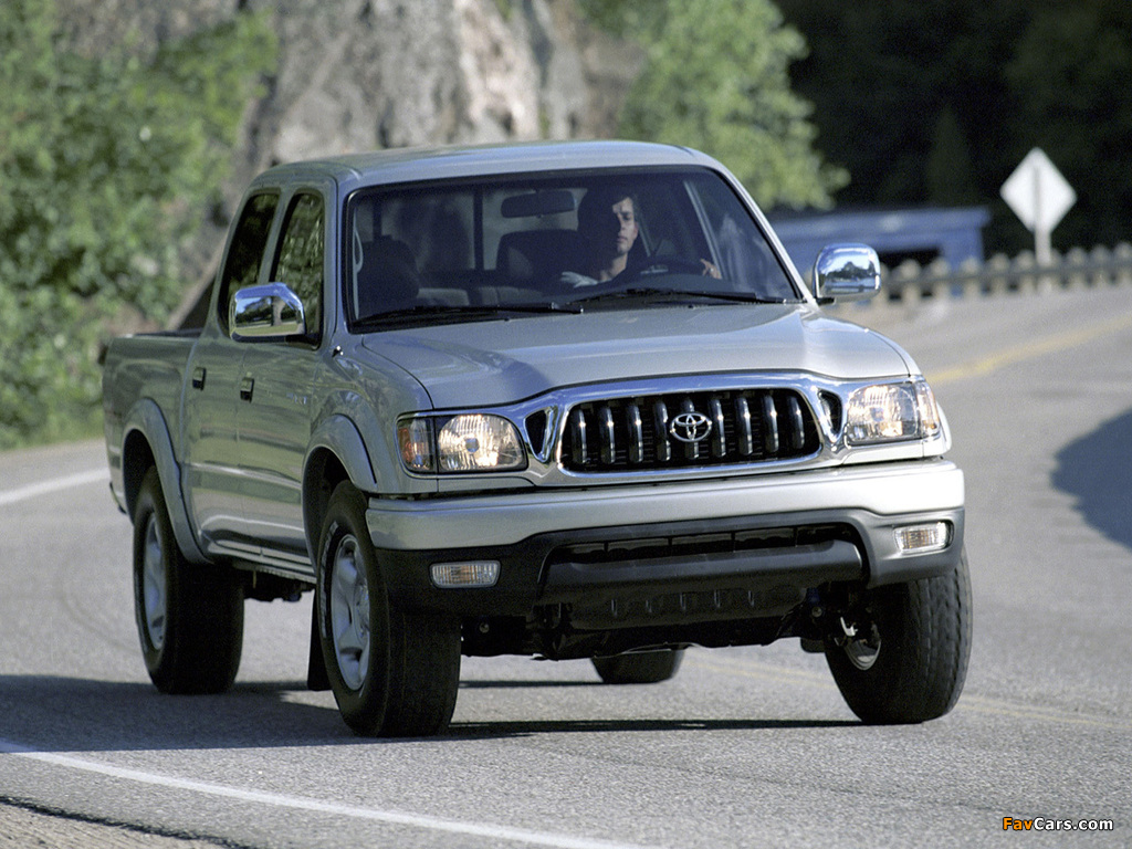 Toyota Tacoma Double Cab >> TRD Toyota Tacoma PreRunner Double Cab Off-Road Edition 2001–04 images (1024x768)