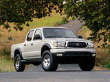 Toyota Tacoma PreRunner Double Cab 2001–04 pictures