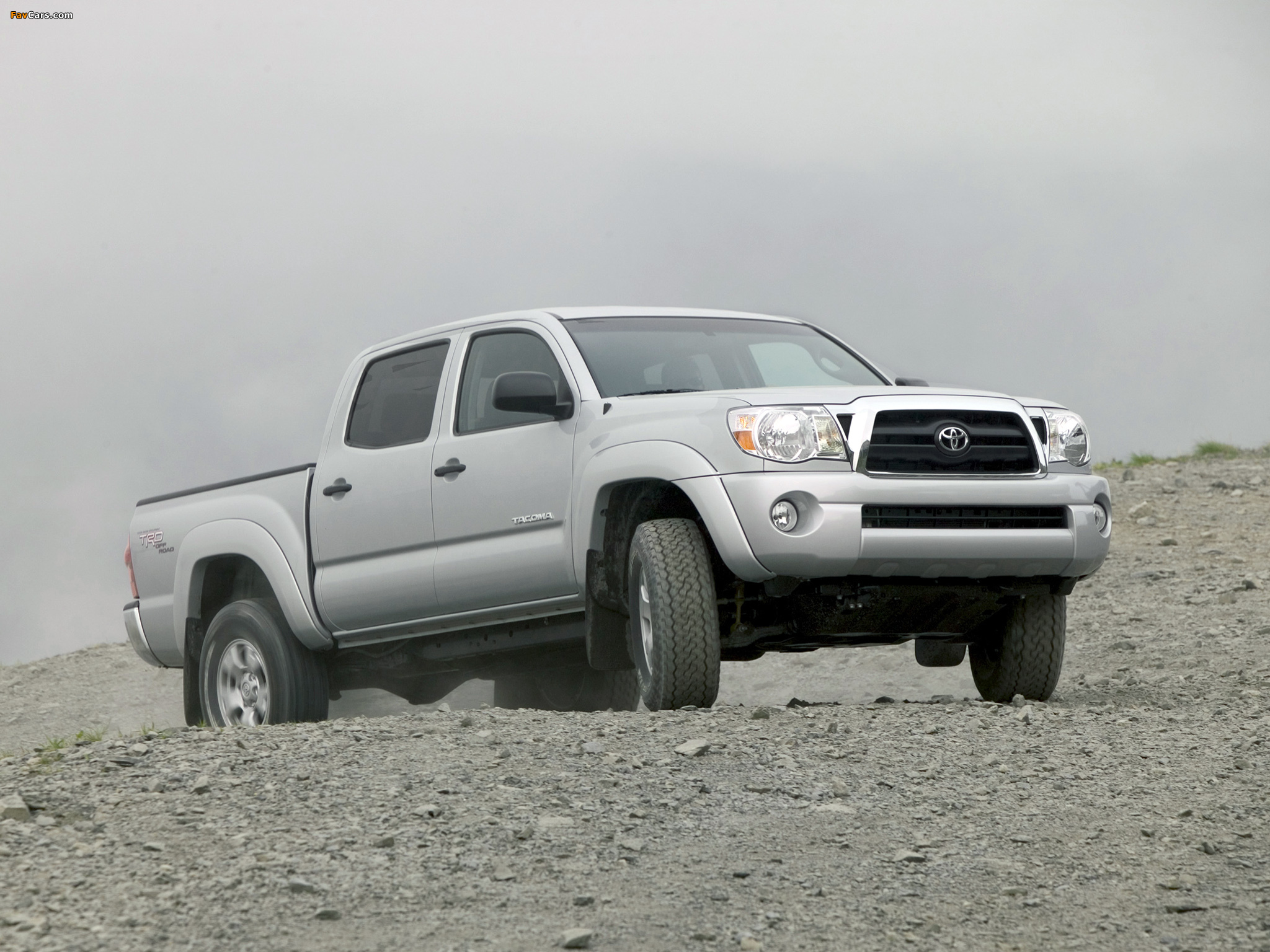 TRD Toyota Tacoma Double Cab Off-Road Edition 2006–12 images (2048 x