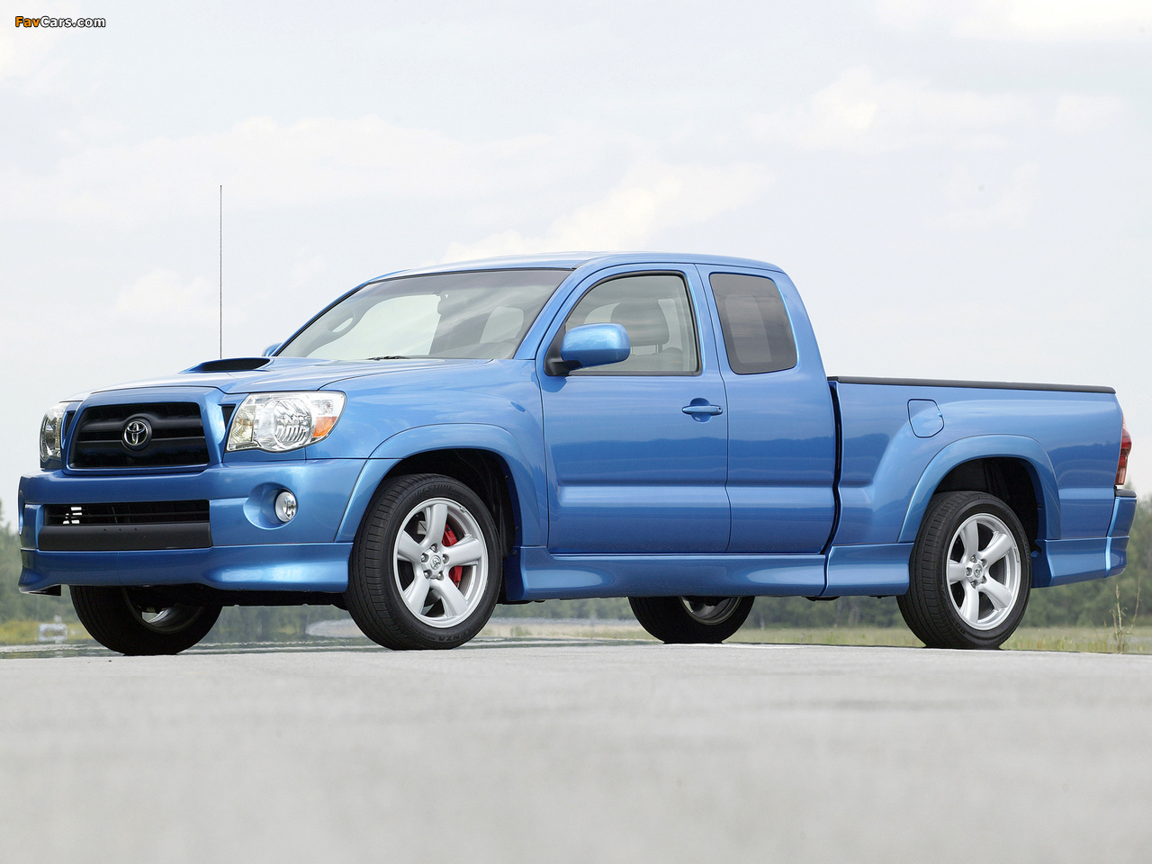 Toyota Tacoma X Runner Access Cab 2006 12 Wallpapers