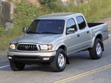 TRD Toyota Tacoma PreRunner Double Cab Off-Road Edition 2001–04 wallpapers