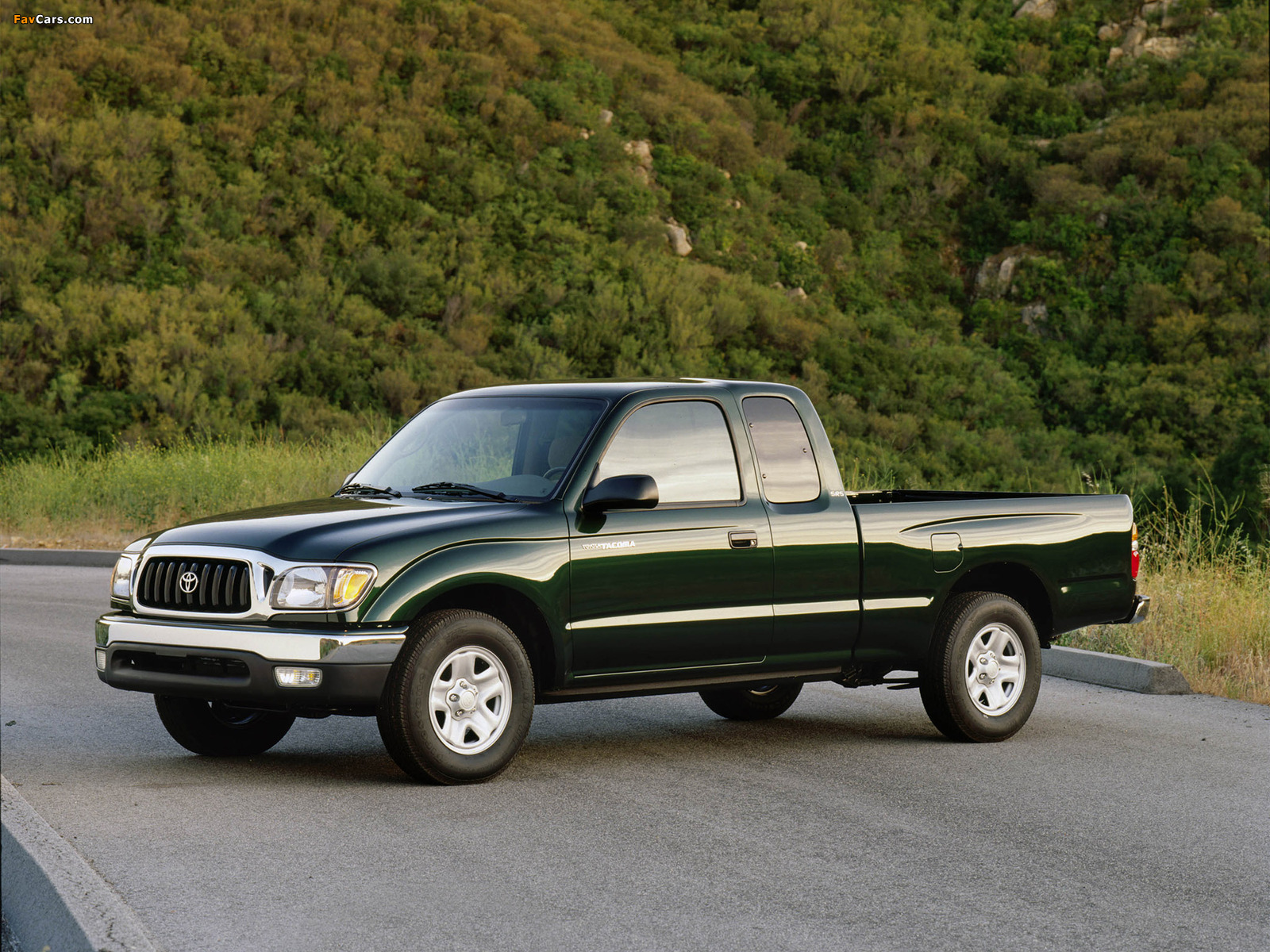 Toyota Tacoma Sr5 2wd Xtracab 2001 04 Wallpapers 1600x1200