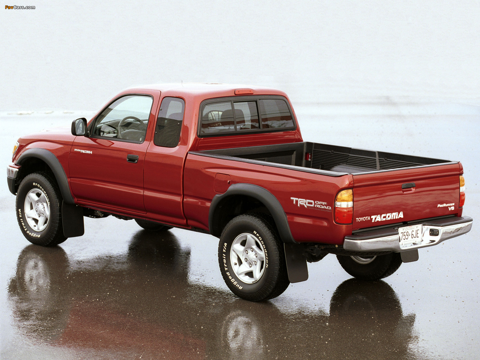 Trd Toyota Tacoma Prerunner Xtracab Off Road Edition 2001