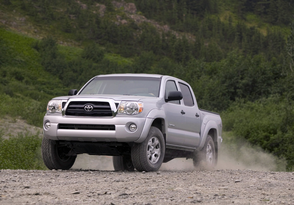 trd toyota tacoma double cab off road edition 2006 12 wallpapers. Black Bedroom Furniture Sets. Home Design Ideas