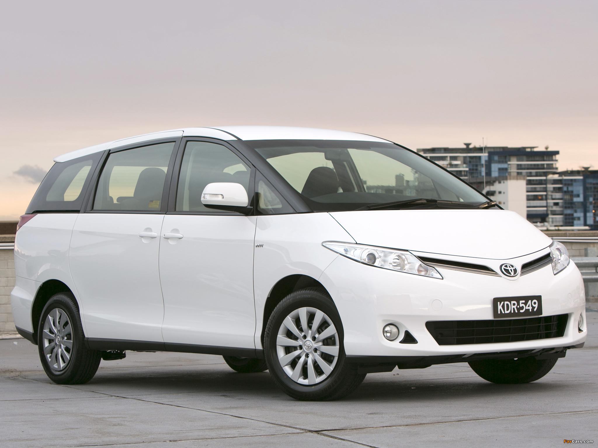 Images of Toyota Tarago 2012 (2048 x 1536)