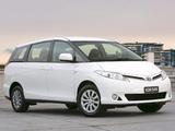 Images of Toyota Tarago 2012