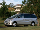 Photos of Toyota Tarago 2000–03