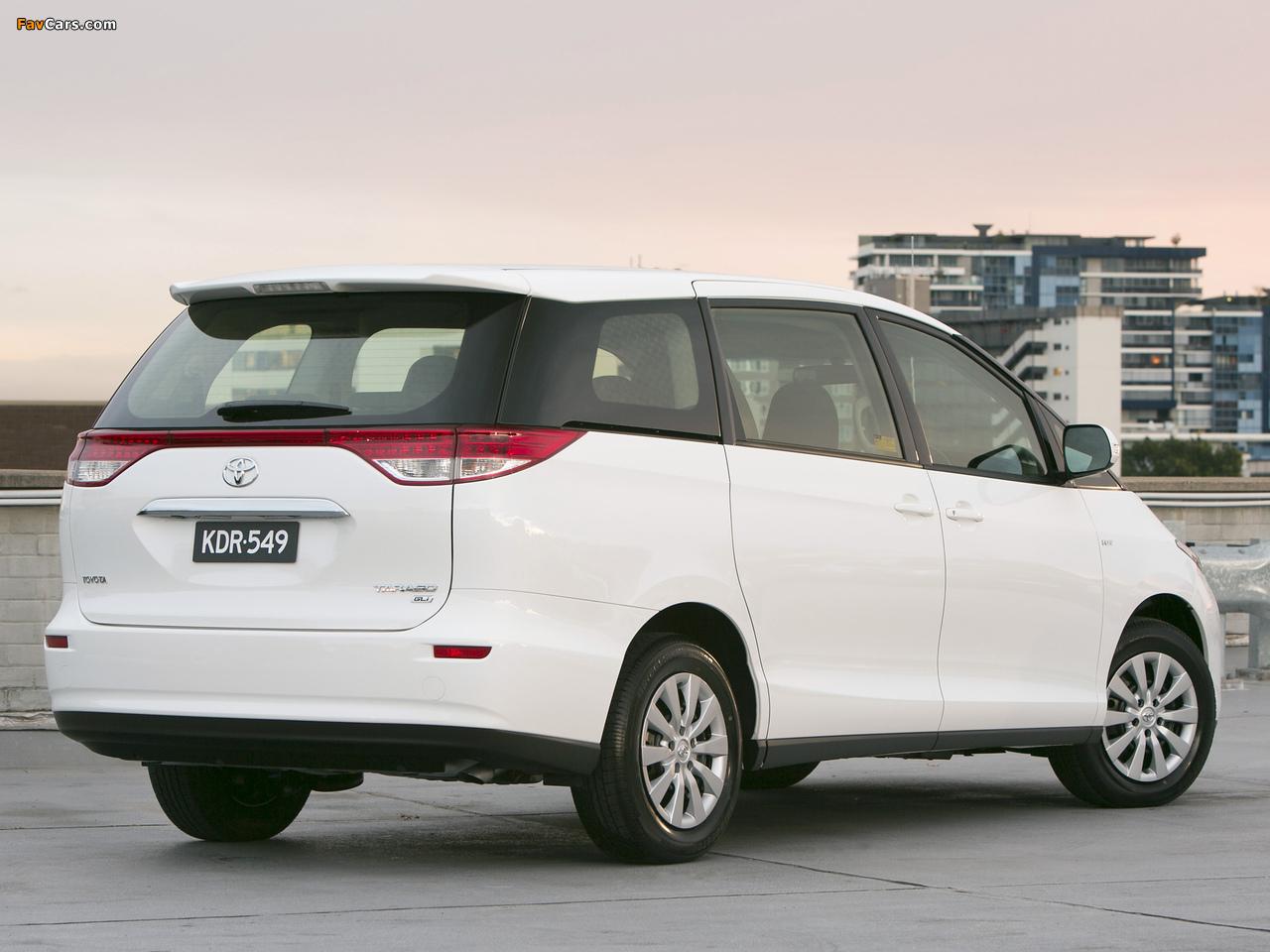 Photos of Toyota Tarago 2012 (1280 x 960)