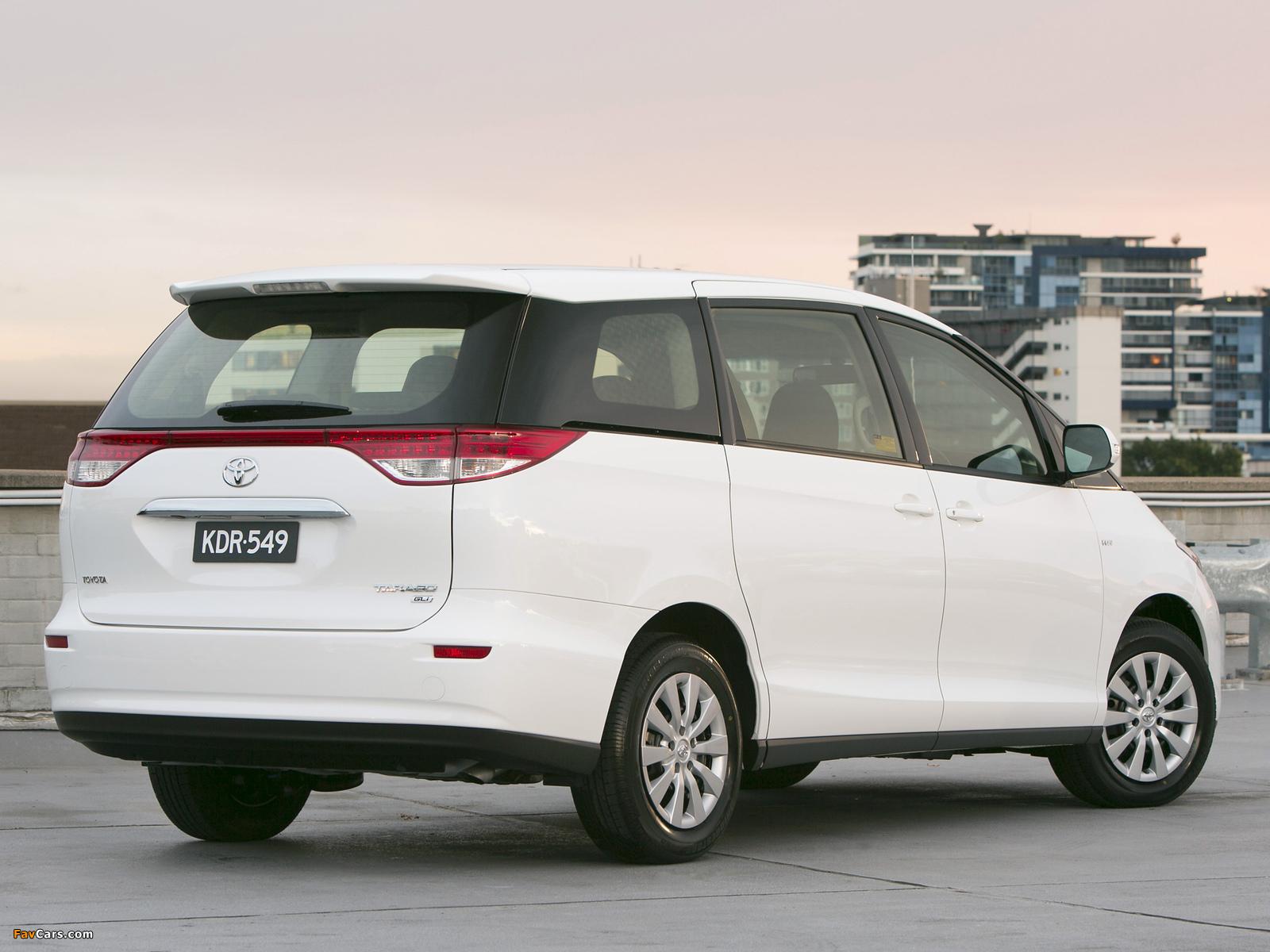 Photos of Toyota Tarago 2012 (1600 x 1200)