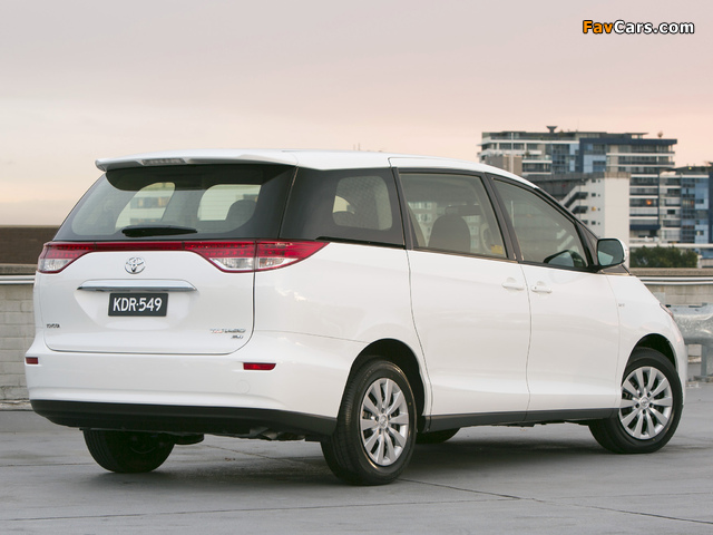 Photos of Toyota Tarago 2012 (640 x 480)